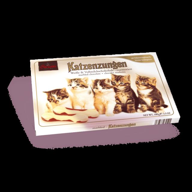 Bild für Katzenzungen Marmoriert