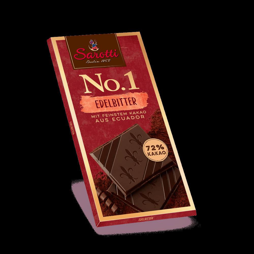 No.1 Tafeln – Edelbitter Ecuador