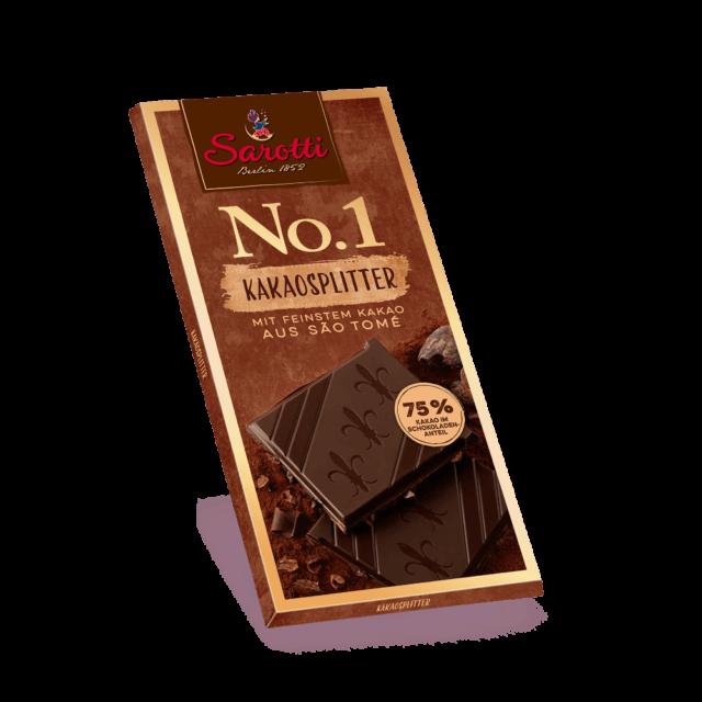 Bild für No.1 Tafeln – Kakaosplitter