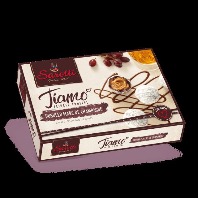 Bild für Pralinen – Tiamo – Marc de Champagne Dunkel