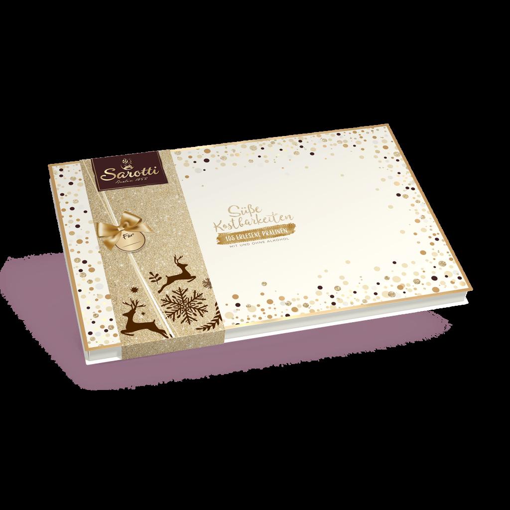 Saisonartikel – Süße Kostbarkeiten – 105 erlesene Pralinen